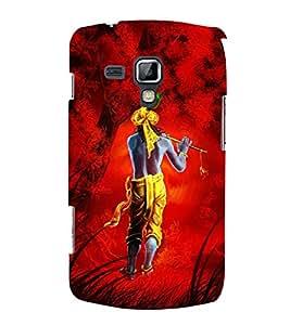 FUSON Krishan Basuri In Jungal 3D Hard Polycarbonate Designer Back Case Cover for Samsung Galaxy S Duos 2 S7582 :: Samsung Galaxy Trend Plus S7580