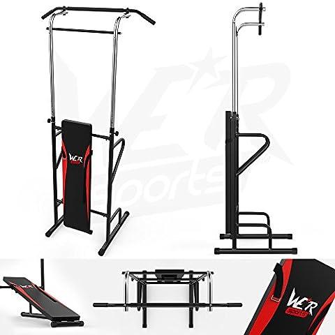 We R Sports Appareil de musculation Abdominaux/barre de traction/dip/ bodybuilding