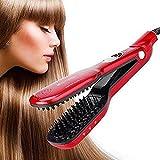 Best Hair Straightener With Steam - Mangalmurti handicrafts Infrared Unisex Steam Hair Brush Straightener Review