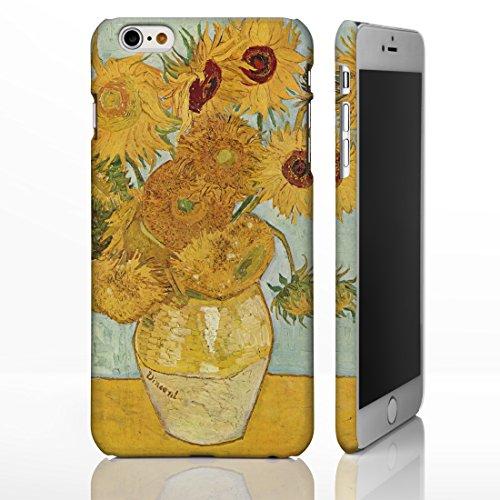 Schutzhüllen, für iPhone, mit Motiven aus der klassischen Kunst, Gemälde berühmter Künstler, plastik, Composition VIII - Candinsky, iPhone 6 Sunflowers - Vincent Van Gogh
