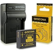 Cargador + Batería DMW-BLG10 DMW-BLG10E para Panasonic Lumix DMC-GF6 | Lumix DMC-GX7 y mucho más… [ Li-ion; 750mAh; 7.2V ]