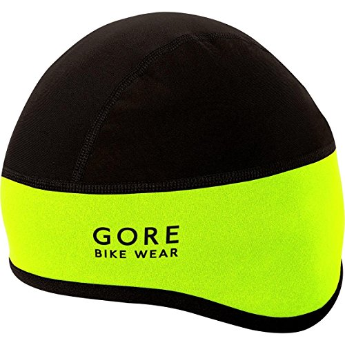 Gore Bike Wear Hhelmf Universal Windstopper Sottocasco - Giallo (Neon Yellow/Nero) - 54/58