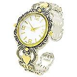f670de094ef0 STC - Reloj de Pulsera para Mujer con Esfera Ovalada Grande Decorado en  Metal de 2
