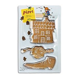 Pippi- Set de moldes para Galletas (Micki Leksaker AB 44-3786-00)