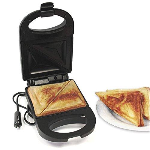 Sandwich Toaster Sandwichtoaster Kontaktgrill Sandwichmaker Sandwich Maker LKW Camping Reise 24V / 120W