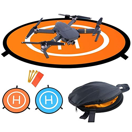 wisfox TY de 01, Drone Rampa de Disparo, Plegable Impermeable d75cm Landing Pad para dji Mavic Pro Phantom 2/3/4Inspire 1