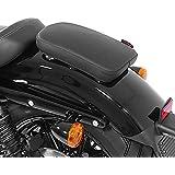 Selle Pouf passager à Ventouses Suzuki Intruder VS 1400 Craftride Glider X noir