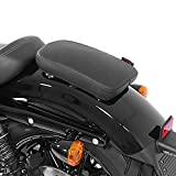 Selle Pouf Passager à Ventouses pour Harley Davidson Sportster 883 Low (XL 883 L) Craftride Glider X Noir