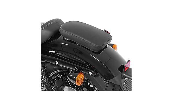 Craftride Glider schwarz XL 1200 X Sozius Saugnapf Sitzpad f/ür Harley Davidson Sportster Forty-Eight 48