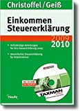 Einkommensteuererklärung 2010/2011: Mit Software