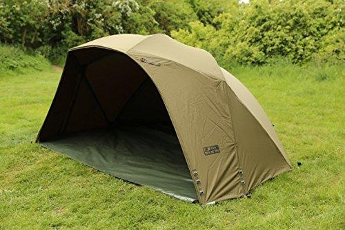 Fox Supa Brolly MK2 60' Karpfenzelt - Angelzelt zum Karpfenangeln, Anglerzelt, Schirmzelt, Zelt komplett