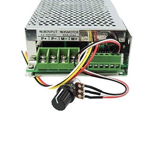 Yangge Drahtlose Fernbedienung DC Motor Speed   PWM-Controller-Bedienschalter-Drehzahlregler Positiv-Inversions SSPEED Grenze - Speed-fernbedienung