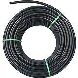 Rc-Junter PE R326 - Tubería de polietileno agrícola, 32 mm, 6 bar, 100 metros, color negro