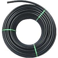 Rc Junter PE R254 - Tubería de Polietileno agrícola, 25 mm, 4 Bar, Bobina de 100 Metros, Color Negro