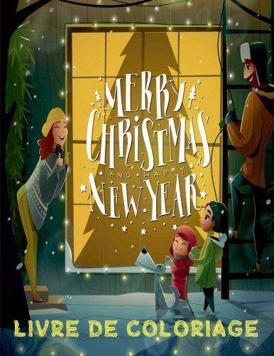 ✌ Joyeux Noël ✌ Livres de Coloriage Noël ✌ (Livre de Coloriage enfant): ✌ Merry Christmas Coloring Book Children ~ Coloring ... Book Girl & Boy) ~ French Edition ✌ par Kids Creative France