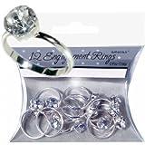 Verlobungs-Ringe 12er Pack