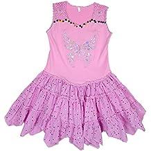 New Fashion 4u -Vestido para Niñas de color Multicolor/Pink de talla Ver Descripción
