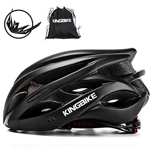 KING BIKE Fahrradhelm Helm Bike Fahrrad Radhelm FüR Herren Damen Helmet Auf Die Helme Sportartikel Fahrradhelme GmbH RennräDer Mountain Schale Mountainbike MTB - Giro Mountainbike-helm