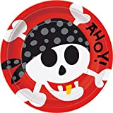 Pirate Fun Party Plates 8 pack / 9 in