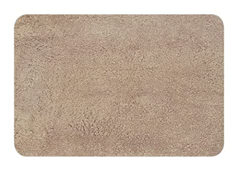 Spirella 10.15281 Lamb Tapis de Bain Nougat 60 x 90 cm