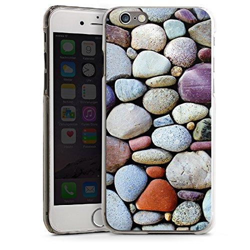 Apple iPhone 5s Housse étui coque protection Cailloux Pierres Rocher CasDur transparent