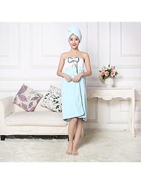 MZP abito gonna bagno di corallo velluto cuffia per la doccia varietà può essere indossato da bagno hotel di lusso...