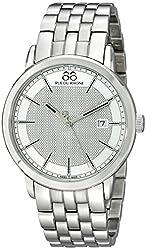 88 Rue du Rhone Mens 87WA130016 Analog Display Swiss Quartz Silver Watch