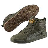 Puma Unisex-Erwachsene Rebound Street V2 SD FUR Hohe Sneaker, Grün Forest Night-Buckthorn Brown 02, 43 EU