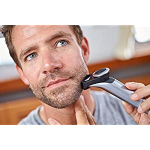 Philips OneBlade Pro Hybrid Trimmer & Shaver with 14-Length Comb (UK 2-Pin Bathroom Plug) - Frustration-Free-Packaging - QP6520/30