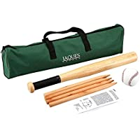 Rounders set Compete Inc. Rounders Stick, Rounders Ball & Carry Case - Includes Rounders Stick, Posts and Oversize Ball - Jaques of London - Quality Since 1795