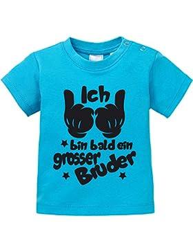 EZYshirt® Ich bin bald ein grosser Bruder Baby T-Shirt