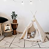 MINICAMP Pet teepee Dog teepee Cat teepee Pet tipi Cat tipi Dog tipi Large dog beds dog beds Dog beds UK: 100% Handmade in EU with Double Side Mat! (Small)