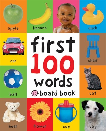 Words (Soft to Touch Board Books)