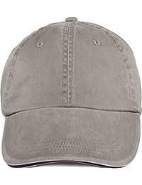 Amboss Pigment–gefärbt Sandwich Cap–Kohle–One Size