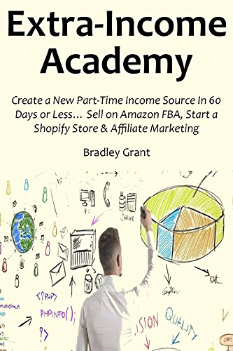 EXTRA INCOME ACADEMY (2016 bundle): Create a New Part-Time Income Source In 60 Days or Less… Sell on Amazon FBA, Start a Shopify Store & Affiliate Marketing (3 in 1 bundle) (English Edition)