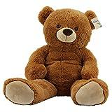 Sweety Toys 10189 XXL Riesen Teddy Teddybär Bär braun Plüschbär super süss Teddybär 100 cm Kuschelbär