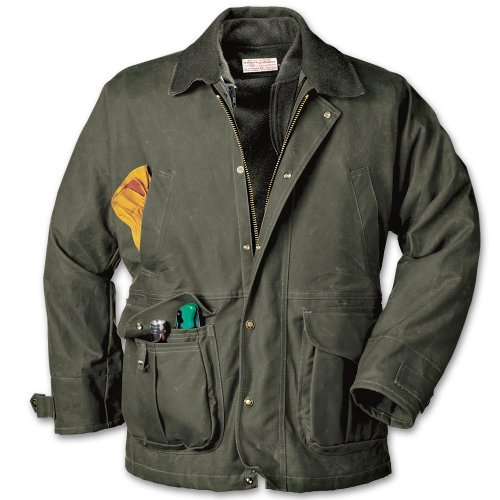 Filson Tin Cloth Field Jacket 10003 Colore Otter Green tg. XL Filson Tin