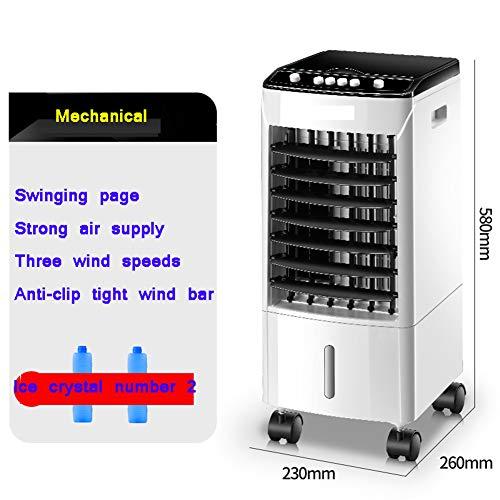 DENG&JQ Kühlung Ventilator, Home Mobile Kleine Klimaanlage Schlafsaal Wassergekühlt Einzel-kälte Portable Air Conditioner DREI Auf Einen Streich -a -