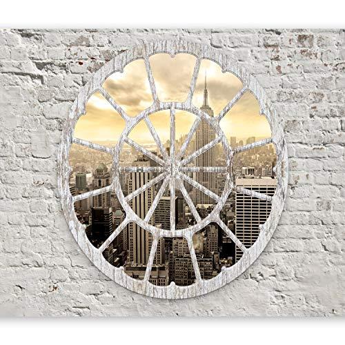 murando Papier peint intissé 400x280 cm - Tableaux muraux déco XXL ville New York plage d-A-0008-a-b