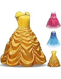 Disfraz de Bella para niñas, disfraces de princesa, para Halloween, para niñas de 4-9 años 8-9 años 1#