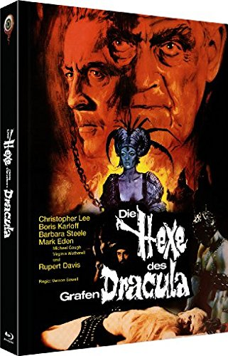 Die Hexe des Grafen Dracula - Uncut/3-Disc Limited Collector's Edition No. 4 (Blu-ray & DVD - Limitiert auf 555 Stück, Cover A)