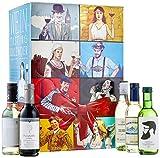 KALEA Wein Tasting Kalender – Wein Probierpaket mit 24 Weine aus Frankreich, Italien, Spanien, Chile, Österreich und Deutschland (24 x 0,25l)