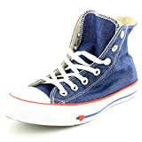 Converse Unisex-Erwachsene Chuck Taylor All Star Hohe Sneaker, Blau (Indigo/Enamel Red/Blue 000), 40 EU