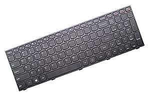 FbscTech (TM) Cadre de rechange pour ordinateur portable Noir Clavier compatible avec Lenovo B50–30B50–30Touch B50–45B50–70G50–30G50–45–70–G50G50–70m Z50–70–Z50–75