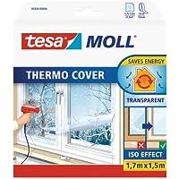 tesa 05430-00000-01 05430-00000-01-Pelicula para Ventanas Thermo Cover 1,7m x 1,5m, Standard, 1.7 M X 1.5 M
