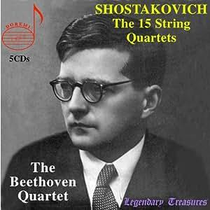Shostakovich: the 15 Streichquartette