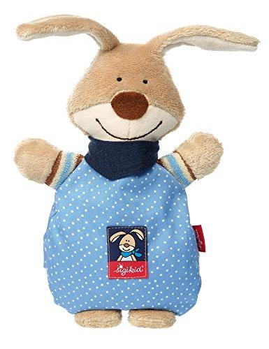 Sigikid 38630 Wärmekissen Semmel Bunny, mehrfarbig