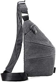 Men'S Chest Bags Men'S Pocket Chest Bag Shoulder Pocket Women'S Personal Digital Storage Bag