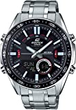 Casio Edifice Analog-Digital Black Dial Men's Watch-EFV-C100D-1AVDF (EX438)