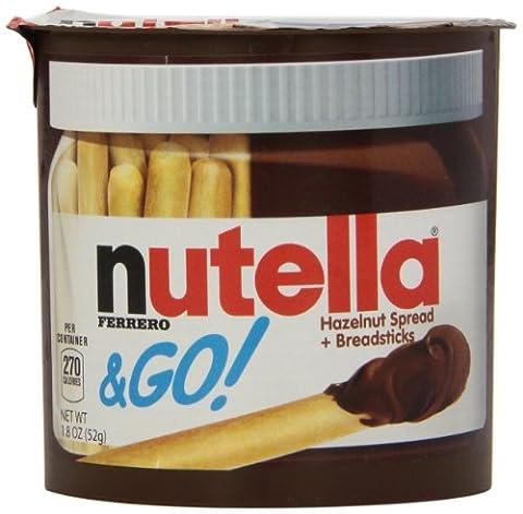 Ferrero Nutella & Go, 12er Pack (12 x 52g) (Nutella Ferrero)